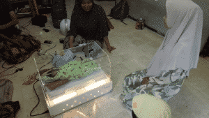 ngabuburit dengan Ngabuburit dengan Inkubator Bersama dengan Keluarga Ibu Nuril Jamilah