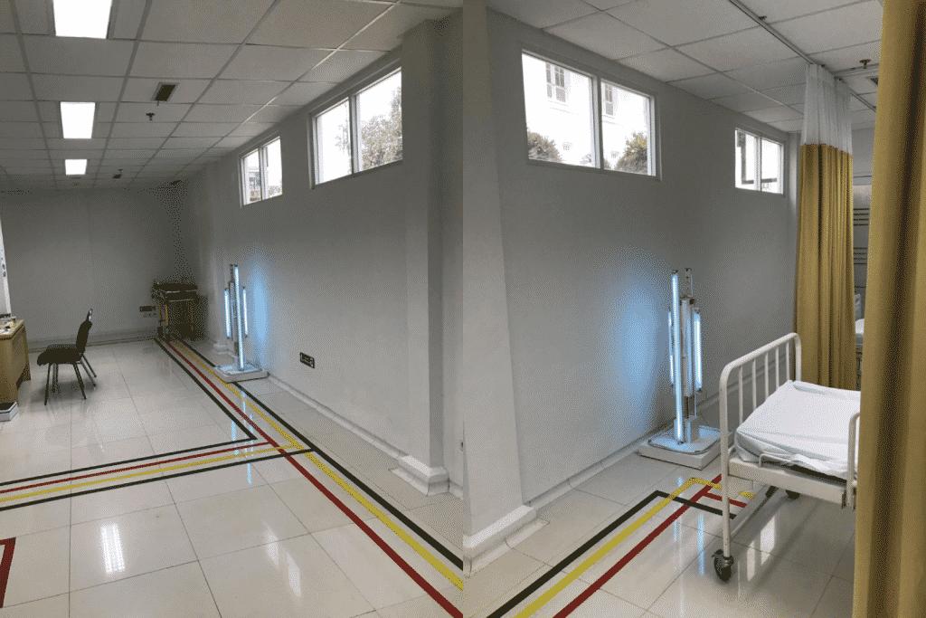 MRD (Movable Room Decontamination)