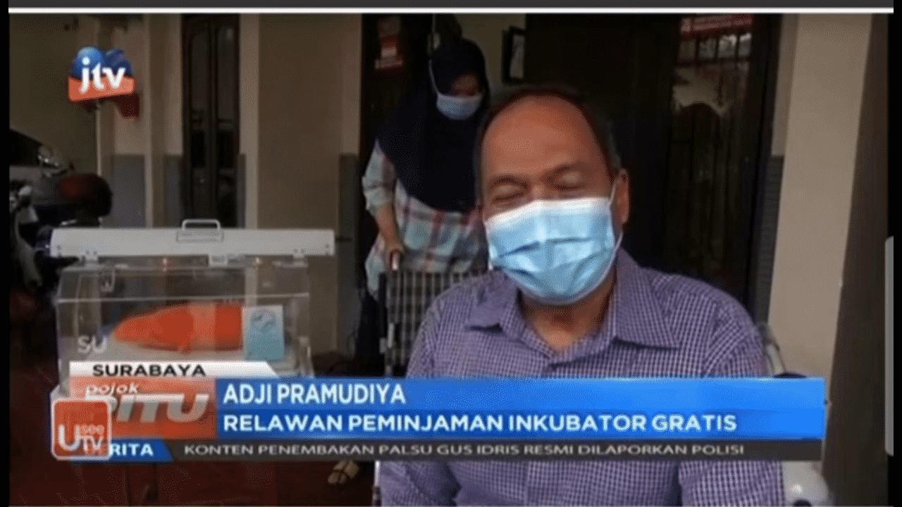 Buka Sewa Inkubator Gratis untuk Bayi Prematur - Pojok Pitu, JTV (8 Maret 2021)